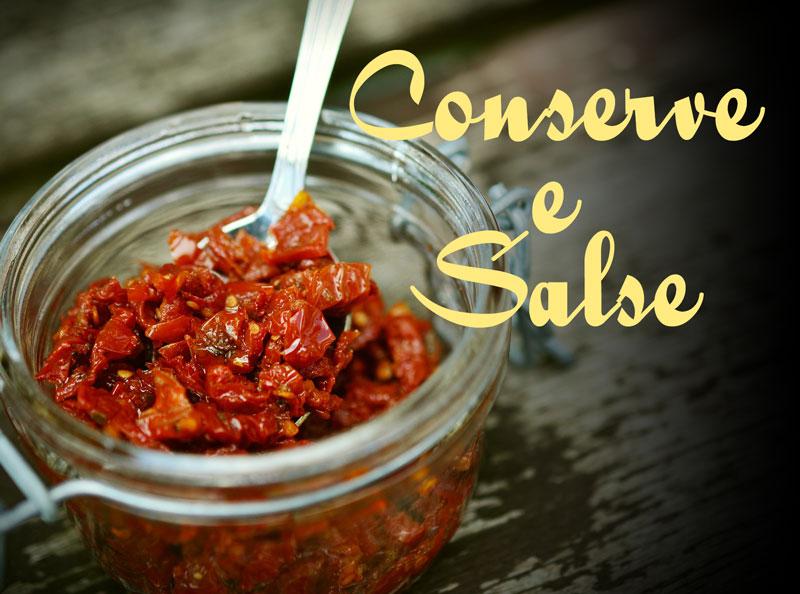 Conserve e Salse
